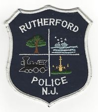 rutherford police patch